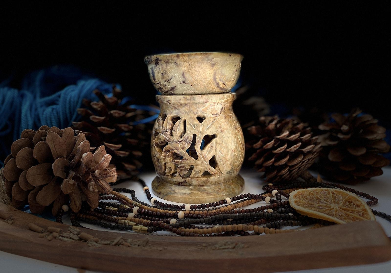 kamennaya aromalampa listochki peysli 516 (3)-min
