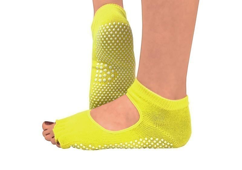 noski-dlya-yogi-bez-paltsev-yellow-white-dots.jpg
